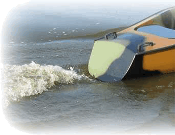Light and fast single pedal boats.